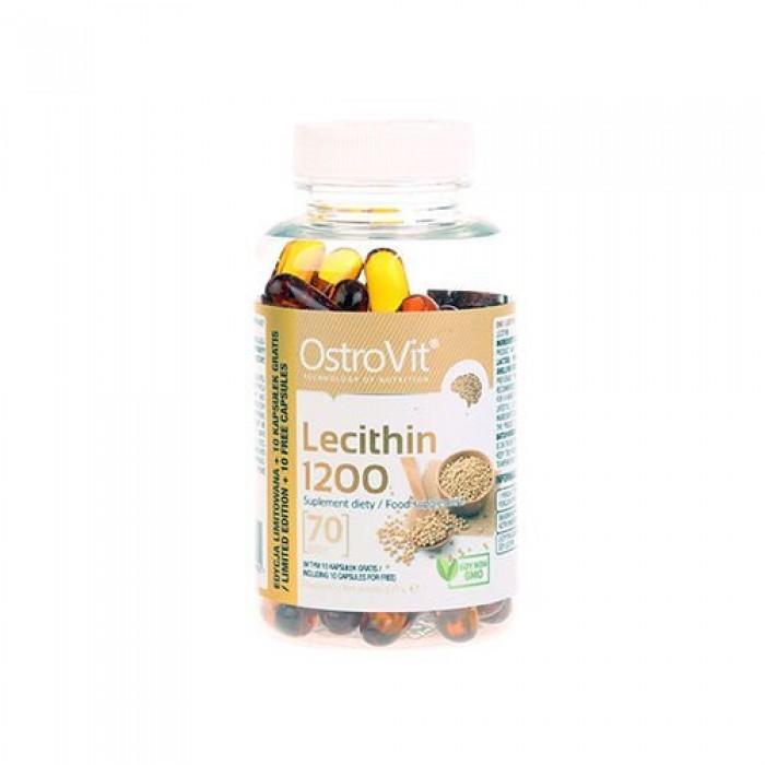 OstroVit - Lecithin 1200 / NO GMO / 70softgels