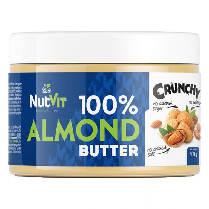 OstroVit - 100% Almond Butter Crunchy / 500 gr