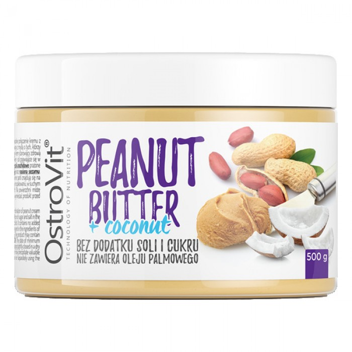 OstroVit - Peanut Butter + Coconut Butter / 500g.