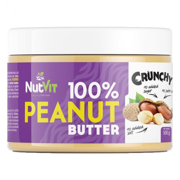 OstroVit - 100% Peanut Butter Crunchy / 500 gr