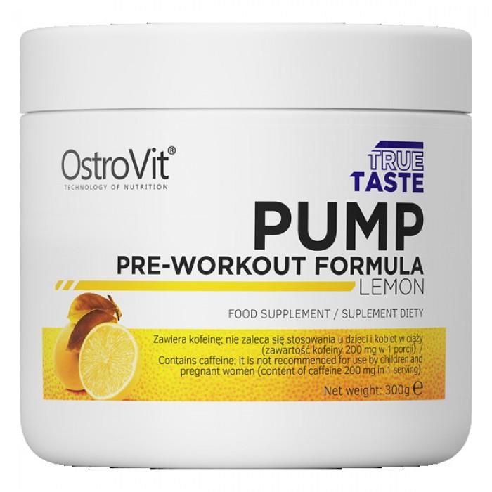 OstroVit - PUMP Pre-Workout Formula / 300g