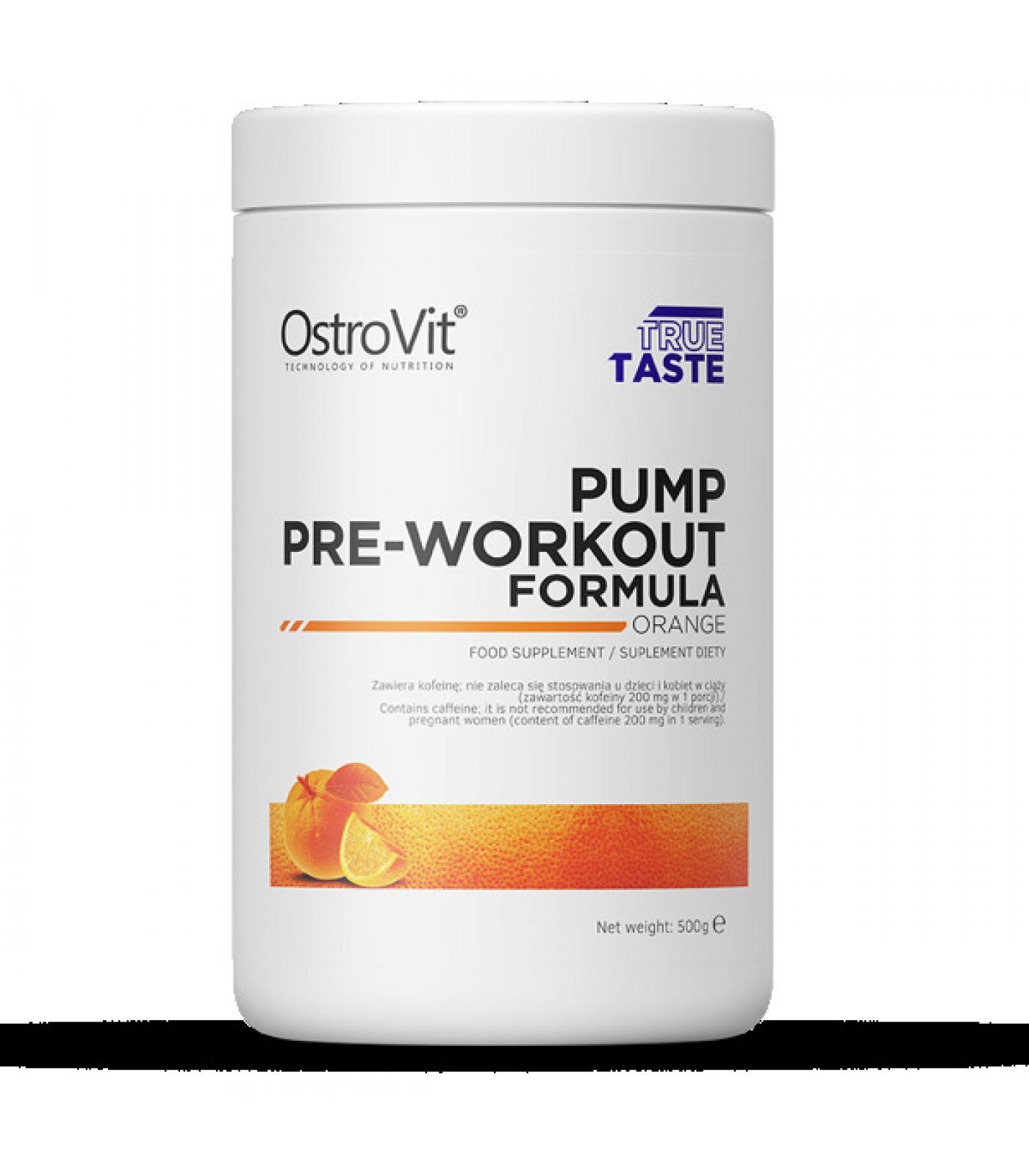 OstroVit - PUMP Pre-Workout Formula / 500g.