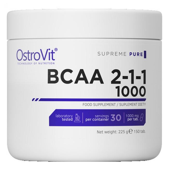 OstroVit - BCAA 2:1:1 1000 / 150 tab