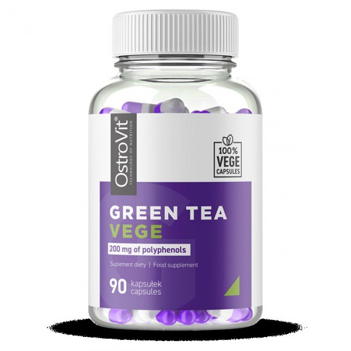 OstroVit - Green Tea 500 mg / Vege / 90caps.