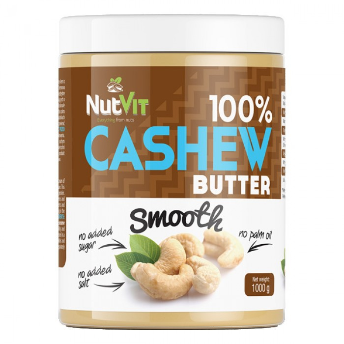 OstroVit - 100% Cashew Butter Smooth / 1000gr