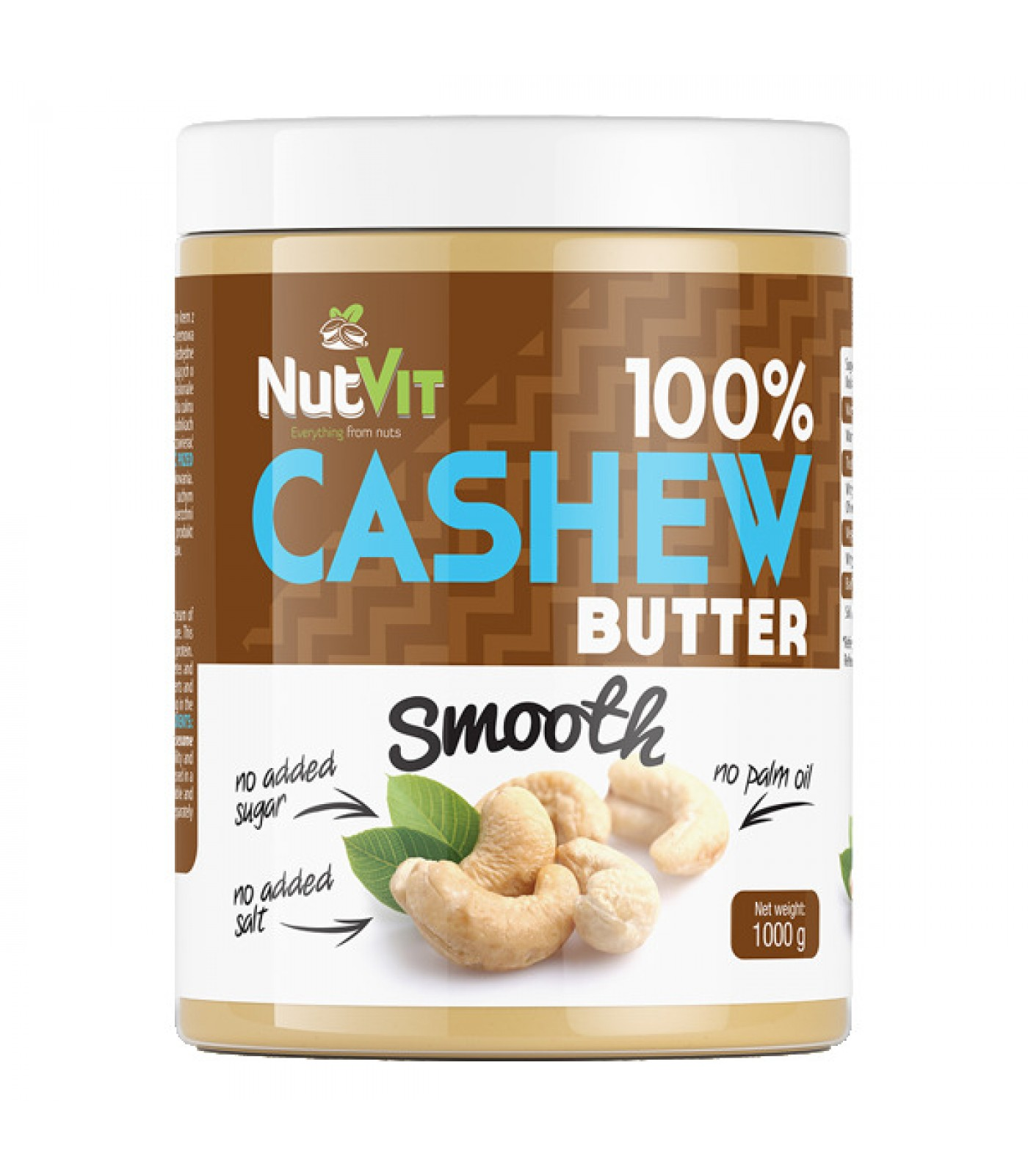OstroVit - 100% Cashew Butter Smooth / 1000gr