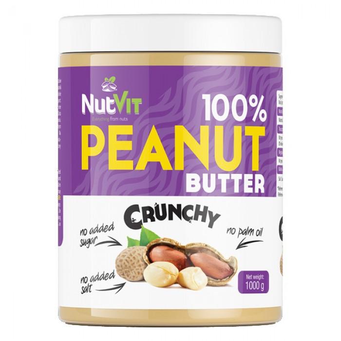 OstroVit - 100% Peanut Butter Crunchy / 1000 gr