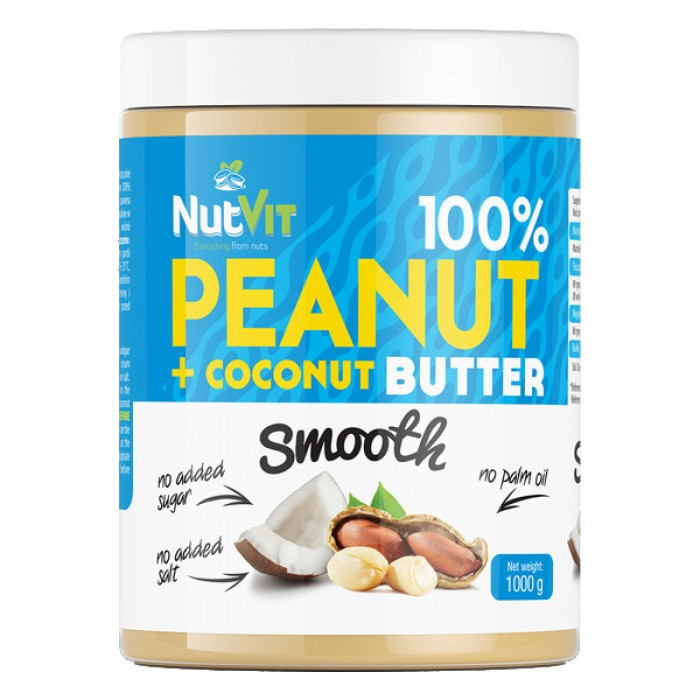 OstroVit - Peanut Butter + Coconut Butter / 1000g.