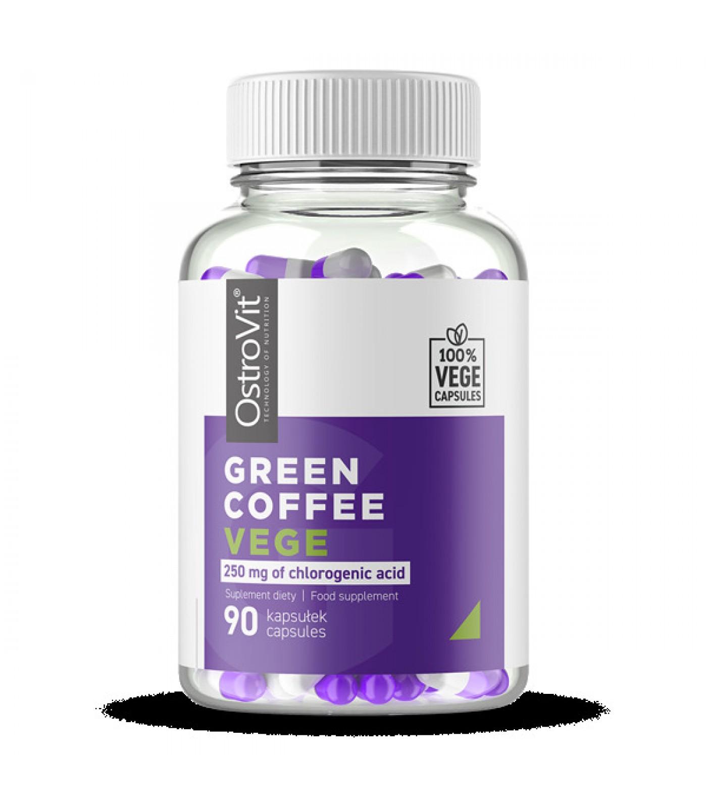 OstroVit - Green Coffee 500 mg / Vege - 90caps