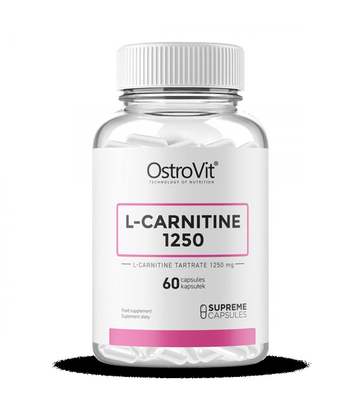 OstroVit - L-Carnitine 1250 mg / 60caps.