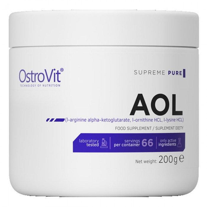 OstroVit - AOL / Arginine Ornitine Lysine Powder / 200g.
