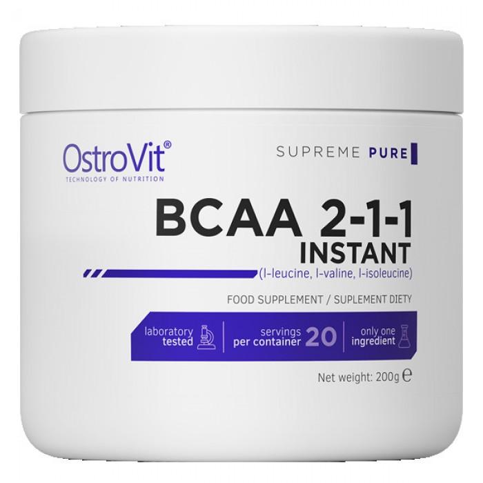 OstroVit - BCAA Instant Powder / 200g.