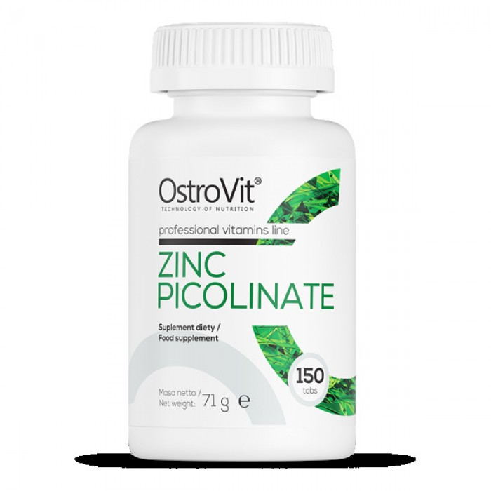 OstroVit - Zinc Picolinate 15 mg / 150tabs.