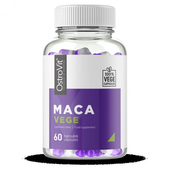 OstroVit - Maca 600 mg / Vege - 60caps.