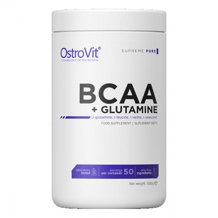 OstroVit - BCAA + GLUTAMINE Powder / 500 g