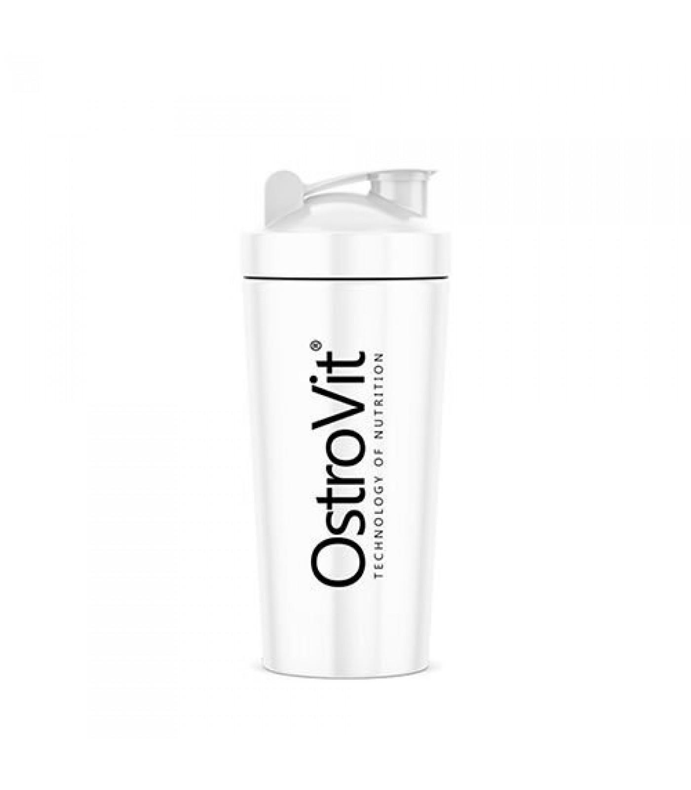 OstroVit - Metal / Steel Shaker / 750 ml / Silver