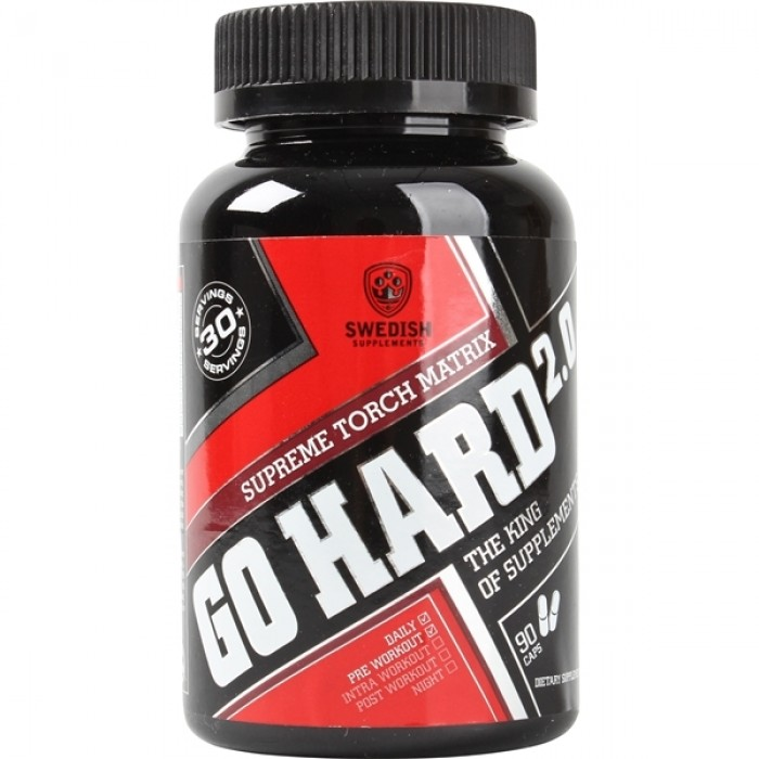 SWEDISH Supplements - Go Hard 3.0