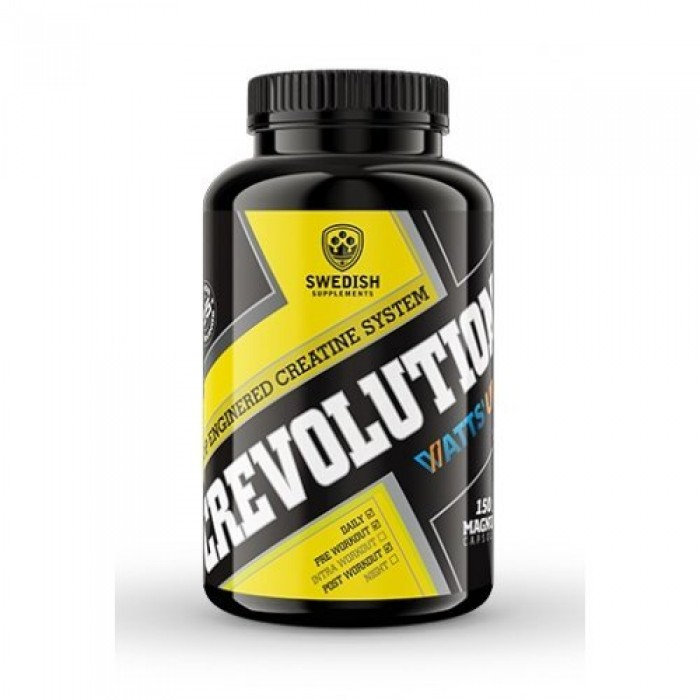 SWEDISH Supplements - CREVOLUTION Caps