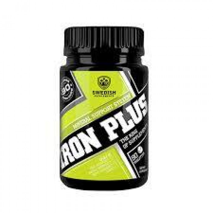 SWEDISH Supplements - Iron Plus / with Vit C & Folic Acid /