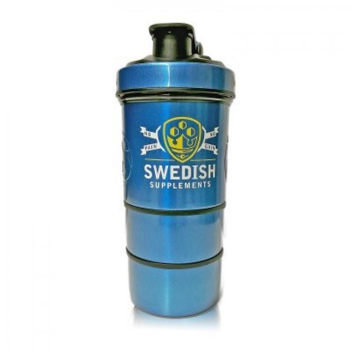 SWEDISH Supplements - Metal Shaker / SWEDISH Smart Shaker with Ice Puck