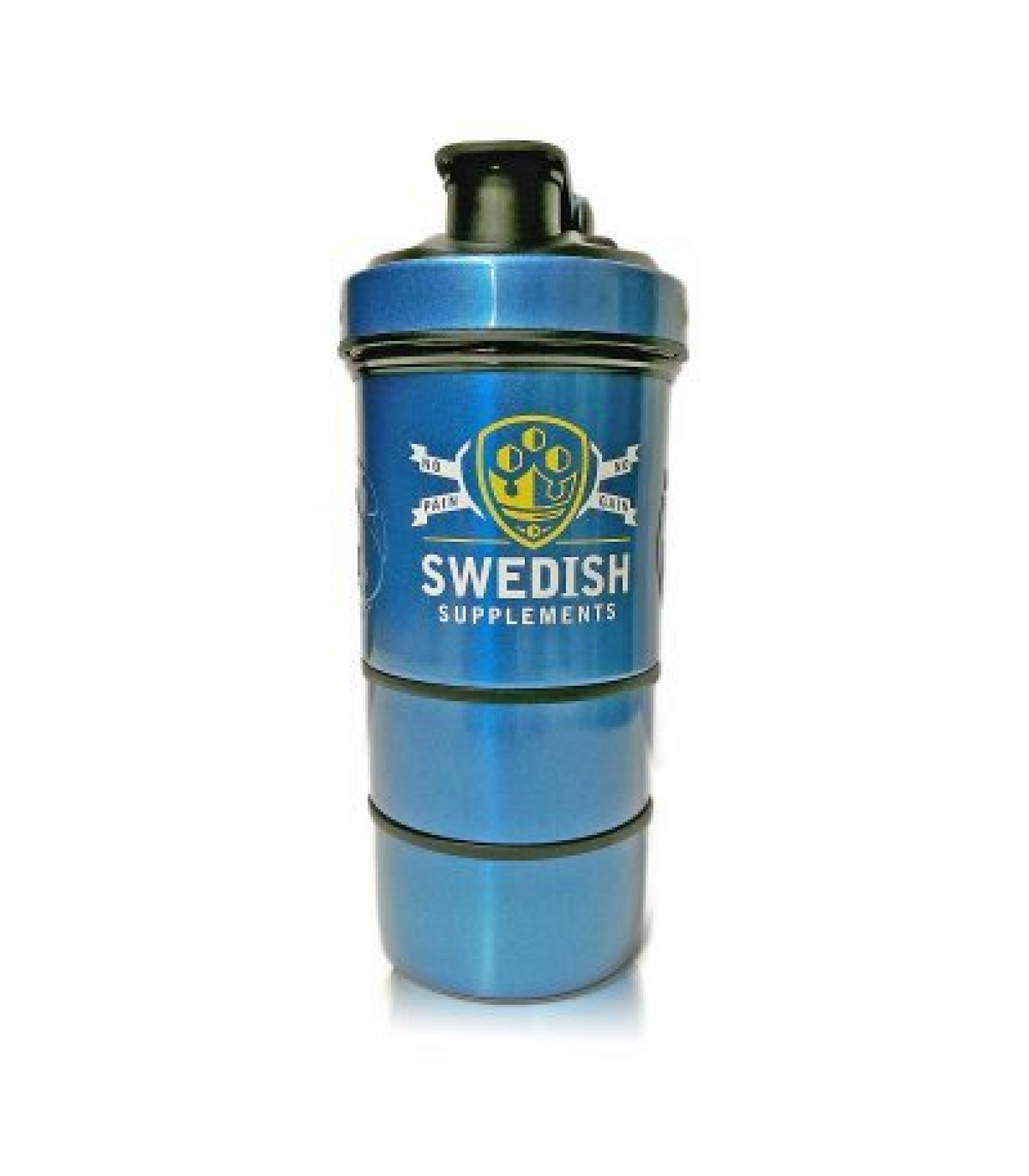 SWEDISH Supplements - Metal Shaker / SWEDISH Smart Shaker with Ice Puck