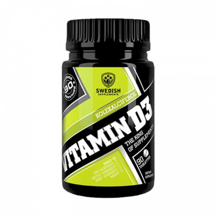 SWEDISH Supplements - Vitamin D3 4000 IU
