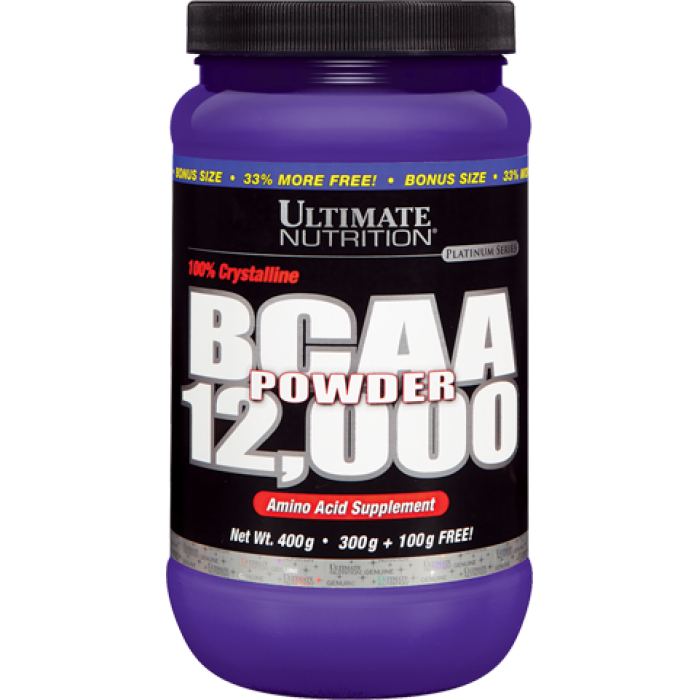 Ultimate Nutrition BCAA 12,000 Powder 457 гр.