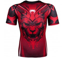 Рашгард - Venum Bloody Roar Rashguard - Short Sleeves - Red​