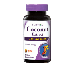 Natrol - Coconut Extract /Fast Disolve / 90 caps