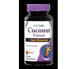 Natrol - Coconut Extract /Fast Disolve / 90 caps Хранителни добавки, На билкова основа