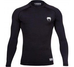 Venum Contender 2.0 Compression T-shirt - Long Sleeves - Black/Ice​