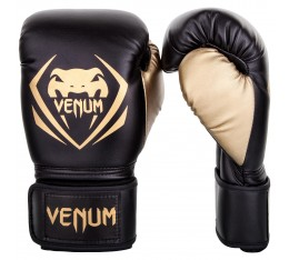 Боксови Ръкавици - Venum Contender Boxing Gloves - Black/Gold​
