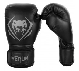 Боксови Ръкавици - Venum Contender Boxing Gloves - Black/Grey​