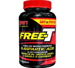 SAN - Free T / 120 caps Хранителни добавки, Стимулатори за мъже
