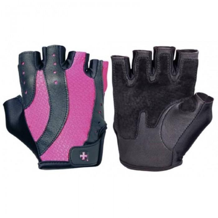 Harbinger - Дамски фитнес ръкавици - Pro (Черно-Розово) - H14930