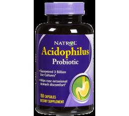 Natrol - Acidophilus Probiotic / 150 caps Хранителни добавки, На билкова основа