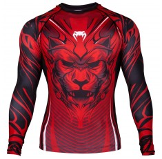 Рашгард - Venum Bloody Roar Rashguard - Long Sleeves - Red​