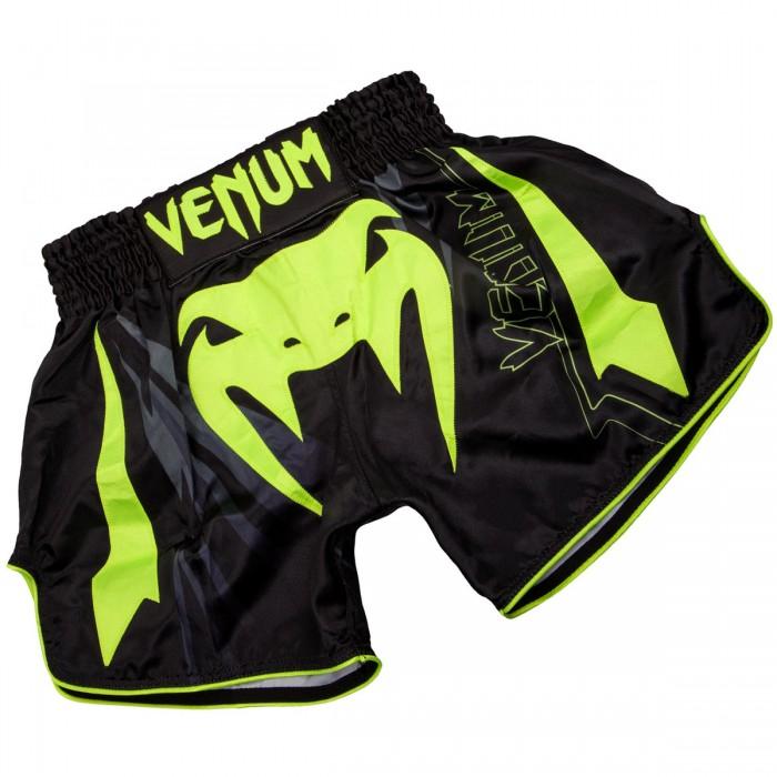 МУАЙ ТАЙ ШОРТИ - Venum Sharp 3.0 Muay Thai Shorts Black/Neo Yellow