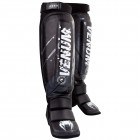 Протектори за крака - Venum Pixel MMA Shinguards - Black/Grey​