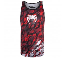 Потник - Venum Tecmo Tank Top - Red/White Тениски