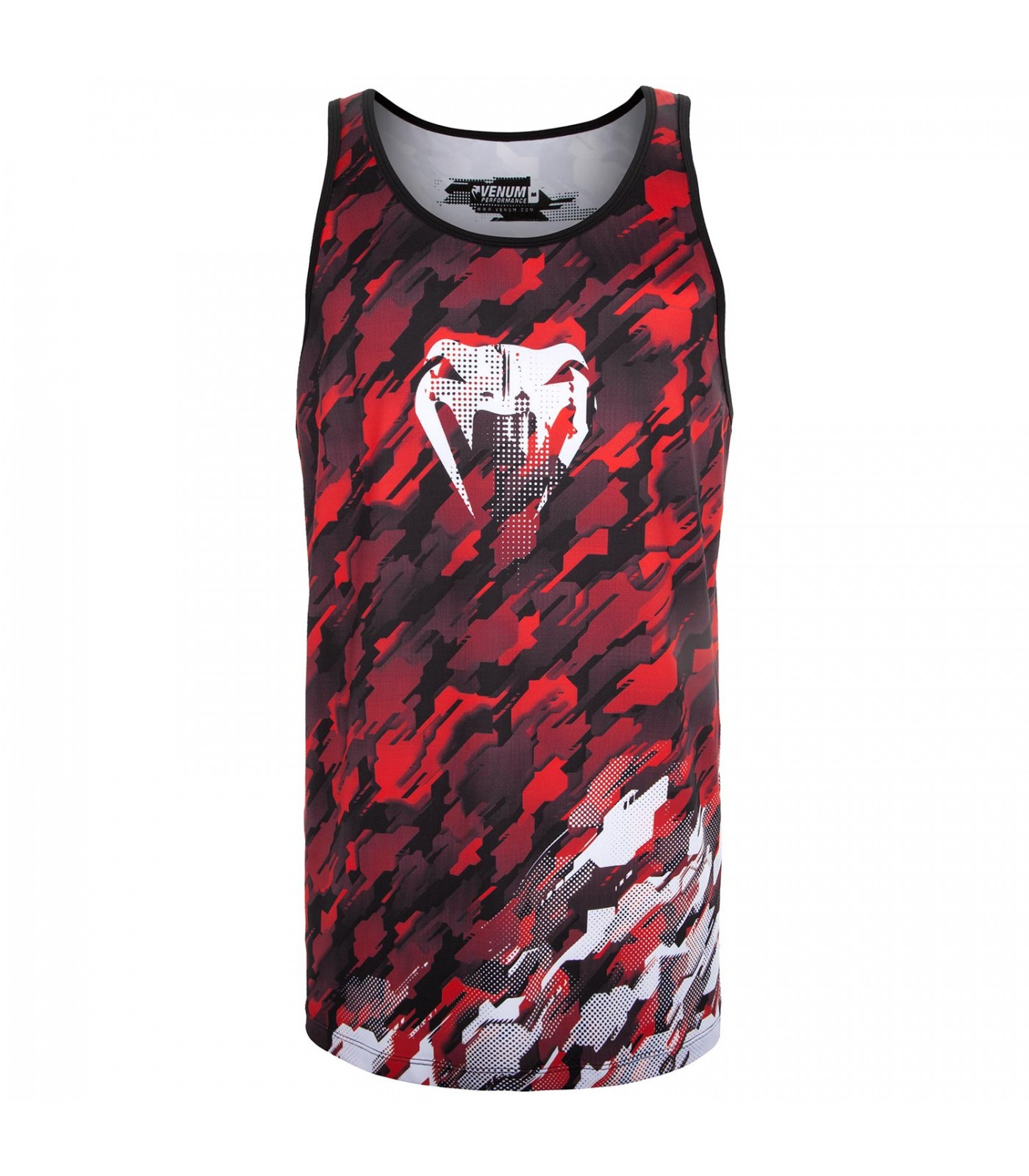 Потник - Venum Tecmo Tank Top - Red/White