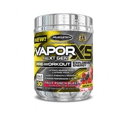 MUSCLETECH Vapor X5 Next Gen Pre-Workout / 30 Serv. Азотни/напомпващи