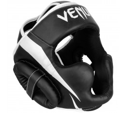 ПРОТЕКТОР ЗА ГЛАВА / КАСКА - VENUM ELITE HEADGEAR BLACK / WHITE​ Протектори за глава