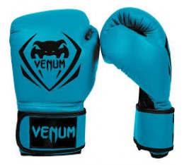 "Боксови Ръкавици - VЕNUM / ""CONTENDER"" BOXING GLOVES - BLUE​"
