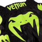 Муай Тай Шорти - Venum Bangkok Inferno Muay Thai Shorts - Black/Neo Yellow​