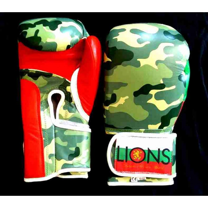 Lions - Боксови ръкавици / Forest Camo limited edition​