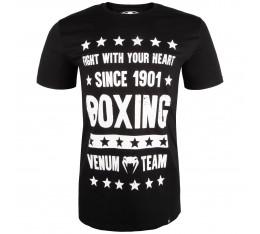 Тениска - Venum Boxing Origins T-shirt - Black Тениски