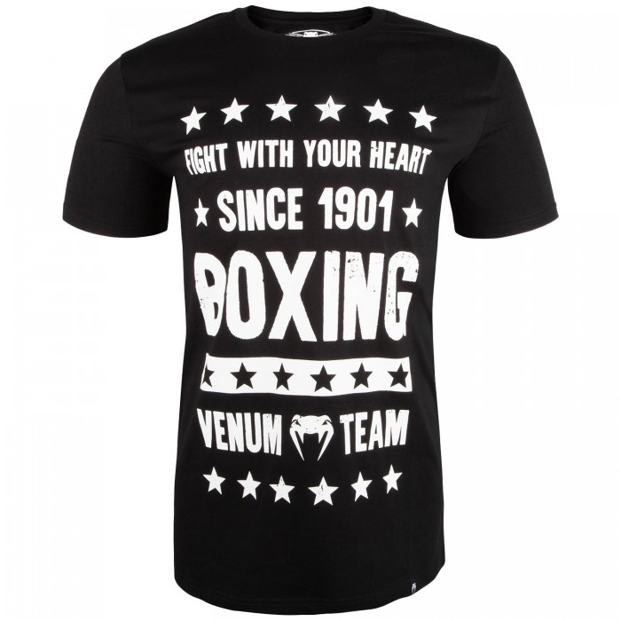 Тениска - Venum Boxing Origins T-shirt - Black​