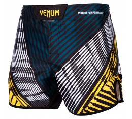 Шорти - Venum Plasma Fightshorts - Black/Yellow​ Къси гащета