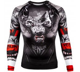 Рашгард - Venum Werewolf Rashguard - Long Sleeves - Black/Grey​